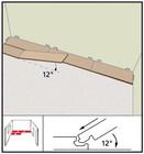 Этапы укладки замка Angle Angle. Фото 10