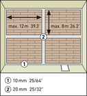 Этапы укладки замка Clic System. Фото 3
